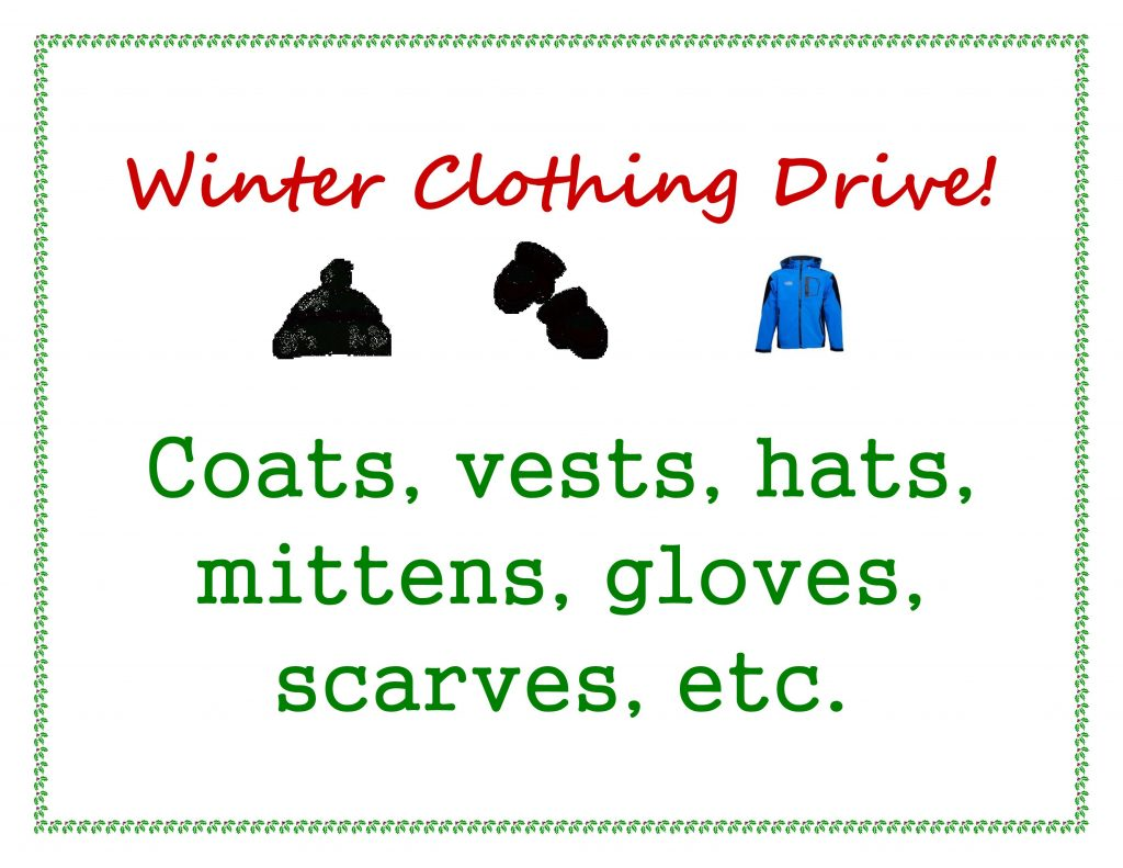 Winter Clothing Drive - Connecticut Family Dentistry
